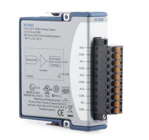 NI9263 Analoge output module